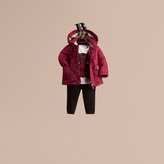 Burberry Quilted Jacket with detachable hood