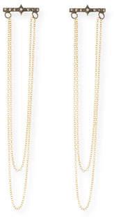 Armenta Old World 18k Gold/Silver Chain Chandelier Earrings