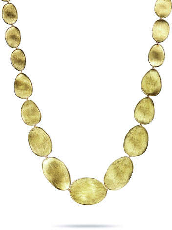 Marco Bicego Lunaria 18k Small Collar Necklace
