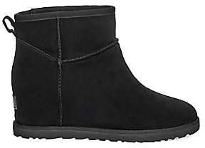 UGG Women's Classic Femme Mini Suede Wedge Boots