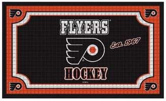 "Evergreen NHL Embossed Welcome Mat 18""x30"""