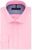 Tommy Hilfiger Men's Slim-Fit Non-Iron Solid Dress Shirt