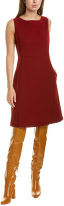 Lafayette 148 New York Paxton Wool Sheath Dress