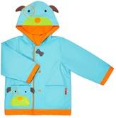 Skip Hop Blue & Orange Dog Raincoat - Toddler & Boys