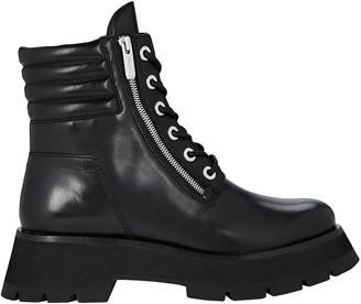 3.1 Phillip Lim Kate Lug Sole Combat Boots