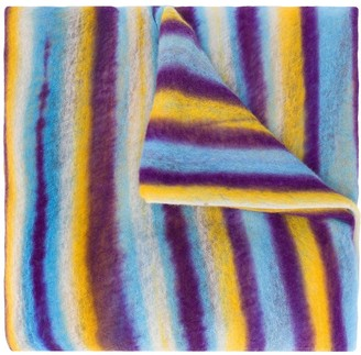 Missoni Colour-Block Striped Cashmere Scarf