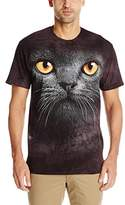 The Mountain Big Face Black Cat T-Shirt