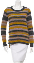 Elizabeth and James Striped Scoop Neck Sweater