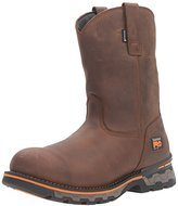 Timberland Men's Ag Boss Soft-Toe Waterproof Pull-On Industrial and Construction Boot
