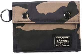 Porter-Yoshida & Co Counter Shade tri-fold wallet