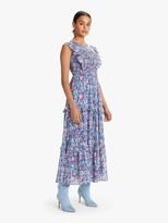 Banjanan Iris Dress - Anna's Wild Garden Blueprint