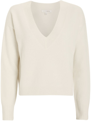 Intermix Elroy V-Neck Cashmere Sweater