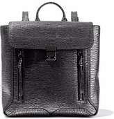 3.1 Phillip Lim Metallic Textured-Leather Backpack