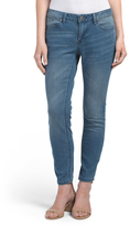 Skinny Jeans With Clean Hem