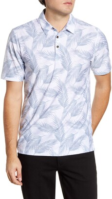 Travis Mathew TravisMathew Saucey Regular Fit Tropical Short Sleeve Button-Up Shirt