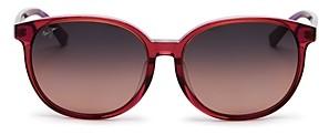 Maui Jim Women's Water Lily Polarized Round Sunglasses, 62mm