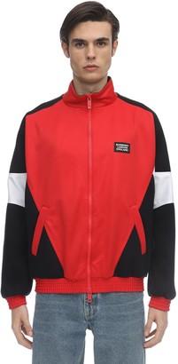 Burberry Zip-Up Tech Jersey Jacket