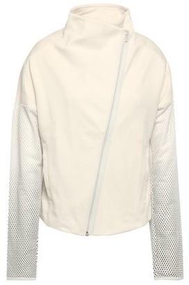 adidas Mesh-paneled Jersey Track Jacket