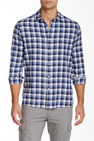 Slate & Stone Plaid Long Sleeve Slim Shirt