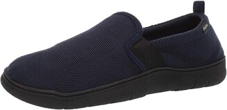 Dearfoams Men's Henry Herringbone Closed Back Slipper