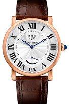 Cartier Rotonde de Dial 18kt Rose Gold Men's Watch W1556252