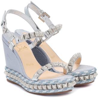 Christian Louboutin Pira Ryad 110 platform sandals