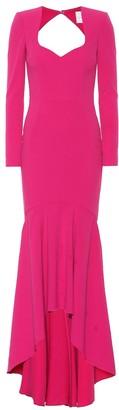 Rebecca Vallance Delilah crApe gown