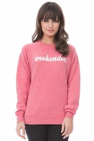 Sub_Urban Weekender Unisex Sweatshirt in Faded Red
