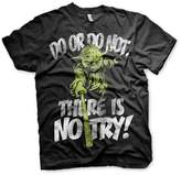 Star Wars Officially Licensed There Is No Try - Yoda T-Shirt