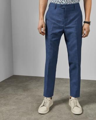 Ted Baker Debonair Slim Fit Linen Blend Trousers