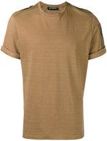 Neil Barrett star shoulder tab T-shirt