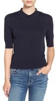 Leith Women's Knit Polo Shirt