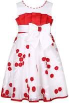 Richie House Girls' Party Princess Dress with Big Bow RH2723-C