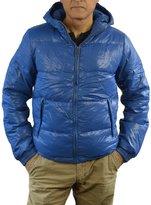 Scotch & Soda Down Feather Hooded Jacket L/S Zip-up Ski Parka Men (XXL, )