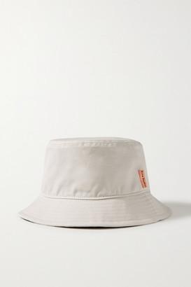 Acne Studios Cotton-canvas Bucket Hat - Beige