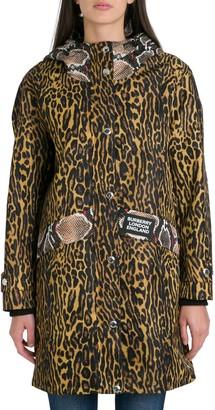 Burberry Cramond Leopard Jacket