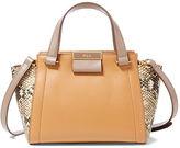 Ralph Lauren Mini Lynwood Leather Shopper