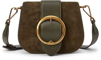 Ralph Lauren Suede Lennox Crossbody Bag