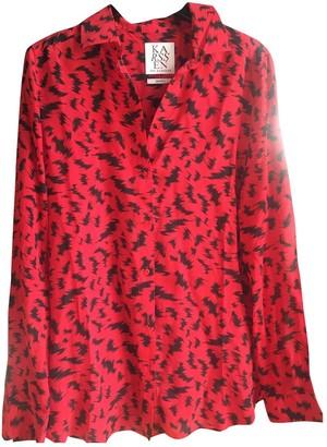 Zoe Karssen Red Silk Top for Women