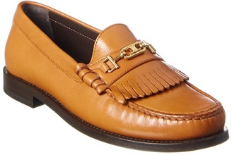 Celine Luco Triomphe Leather Loafer