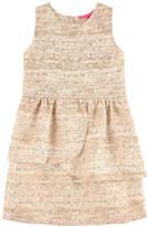 Derhy Kids Jacquard knit and lurex dress with