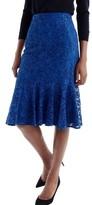 J.Crew Women's Lace Trumpet Skirt