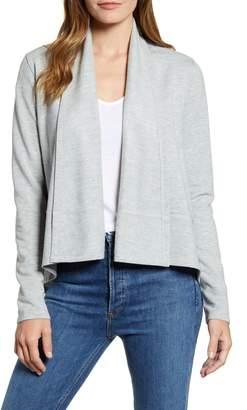 Caslon Open Front Knit Jacket