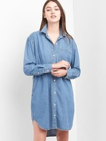 Gap Denim girlfriend shirtdress