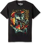 Marvel Men's Guardians of the Galaxy Groot, Star-Lord T-Shirt