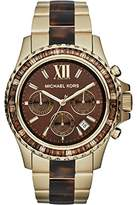 Michael Kors Women's Everest MK5873 Gold Stainless-Steel Quartz Watch with Dial