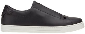 Fendi Zucca band slip-on sneakers