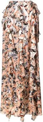 Diane von Furstenberg Floral Print Skirt