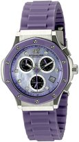 Stuhrling Original Women's 180R.1116Q78 Special Reserve Apocalypse Cosmo Girl Date Watch with Rubber Strap