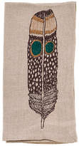 Coral & Tusk Owl Feather Dinner Napkin